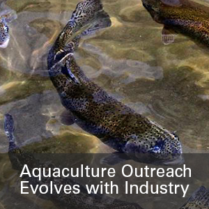 Aquaculture Outreach Evelves with Industry