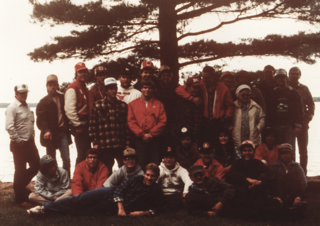 1985 group at forestry camp