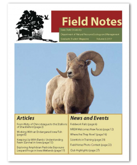 2017 Field Notes Cover