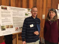 Tim Stewart and Jan Thompson poster presentation