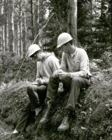 Picture of students at forestry camp