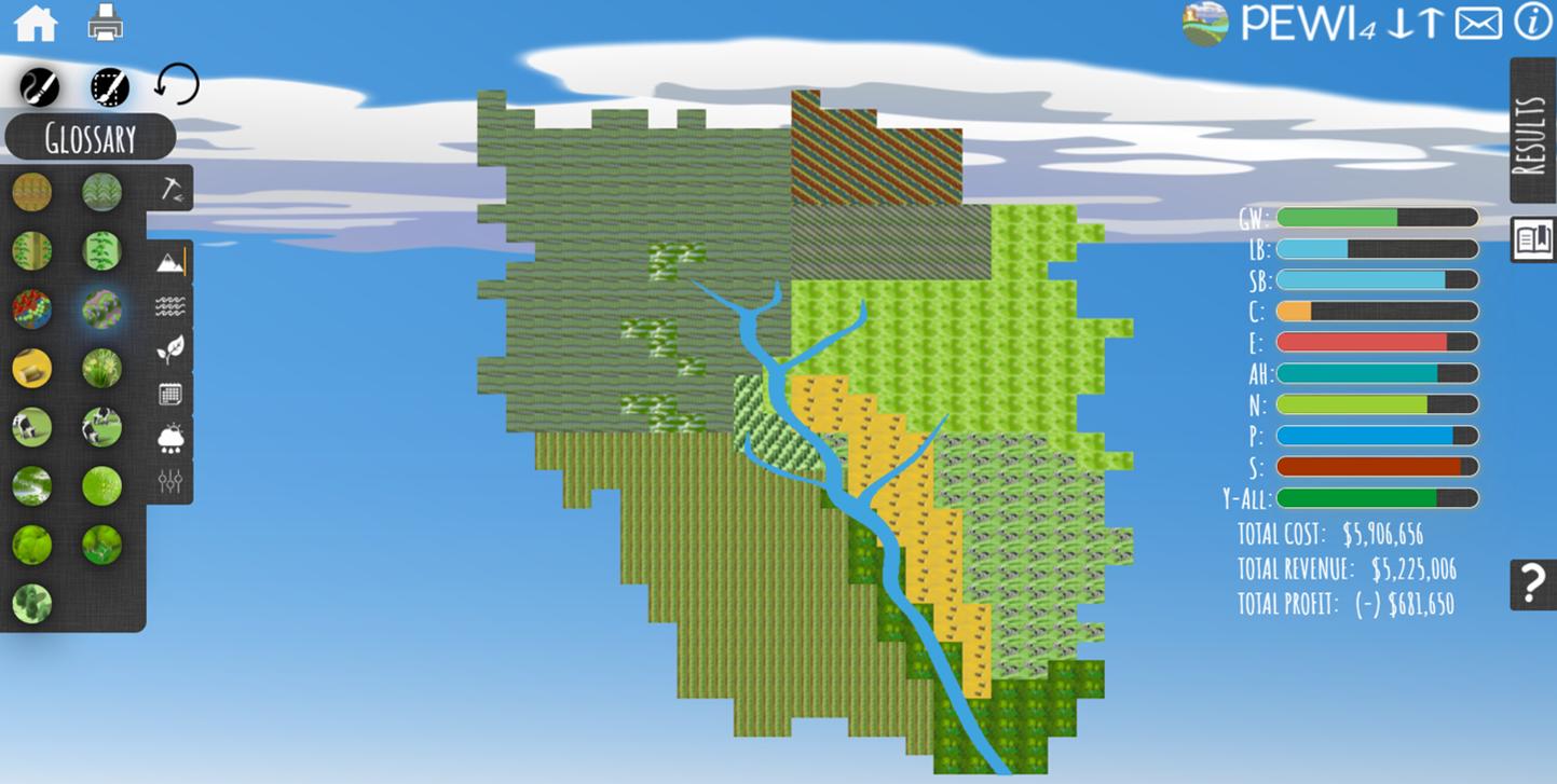 screenshot of PEWI4