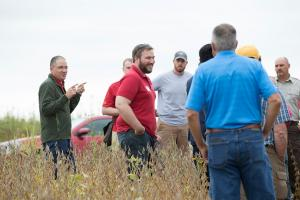 Matt Helmers talks about soil, water, and prairie strips